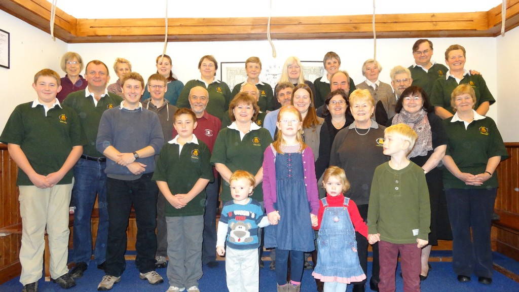The Reading Ringers and friends visit Tulloch, Oct/Nov 2013